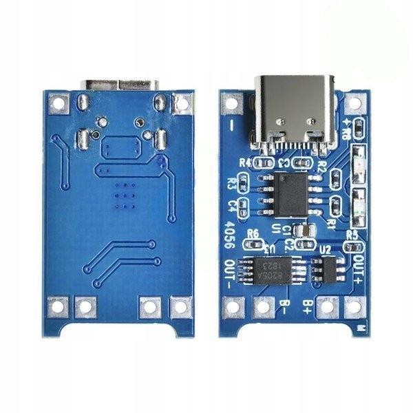 Zasilacz buforowy Ładowarka USB Type-C - 1A 18650