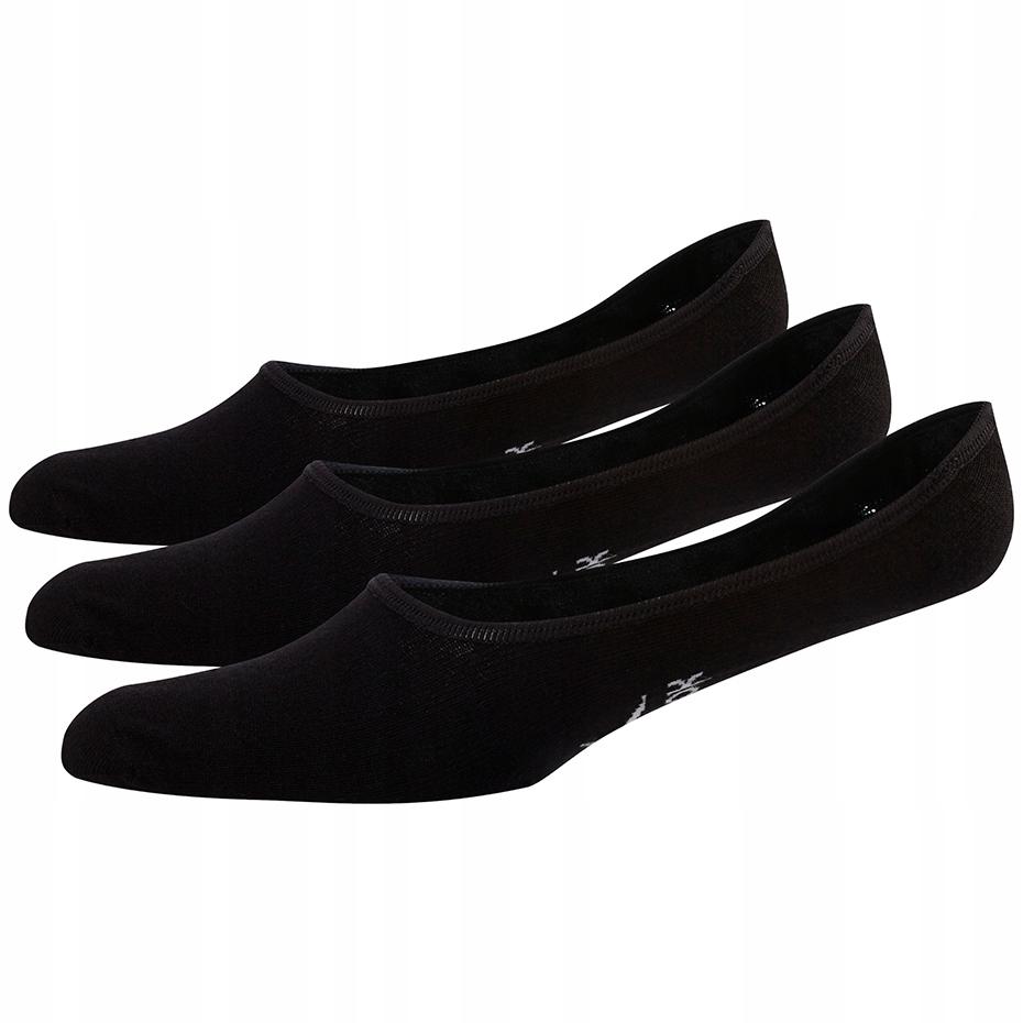 Skarpety damskie Reebok TE Invisible Sock 3 pary c
