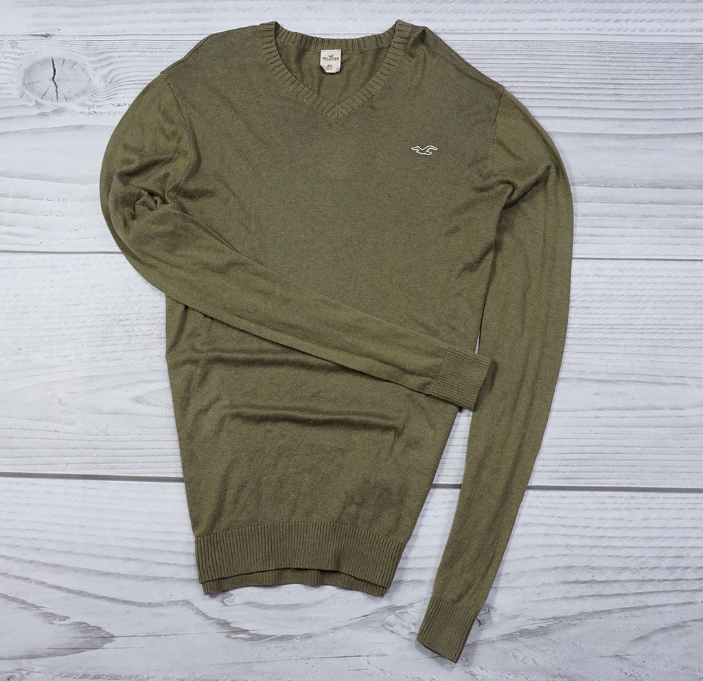 HOLLISTER _ GREEN SWETER _ 2XL _ EXCLUSIVE 2019