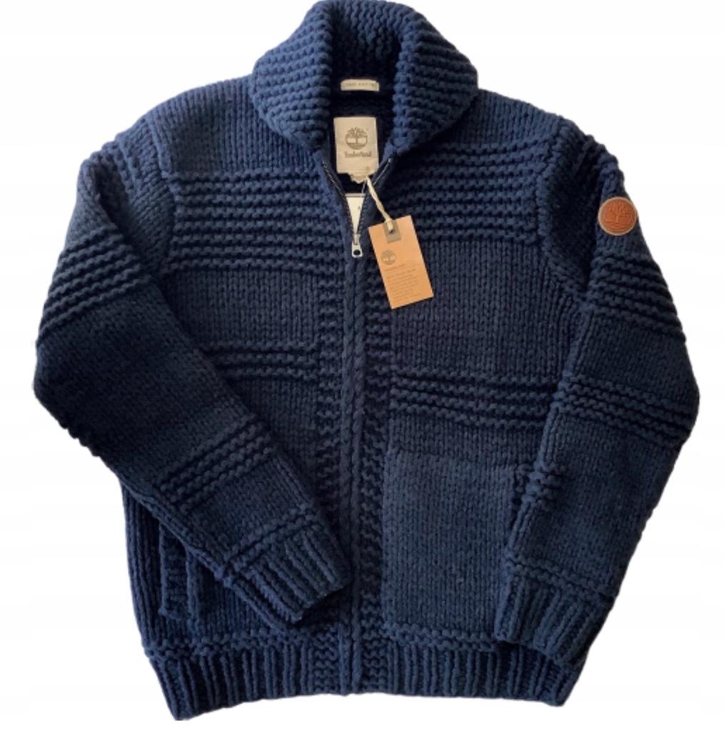 TIMBERLAND sweter r. L wełna