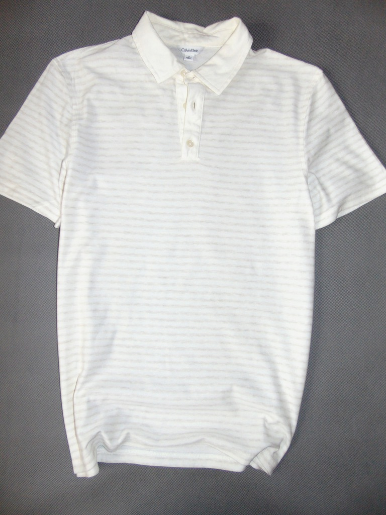 -80 % SALE CALVIN KLEIN koszulka męska polo r S