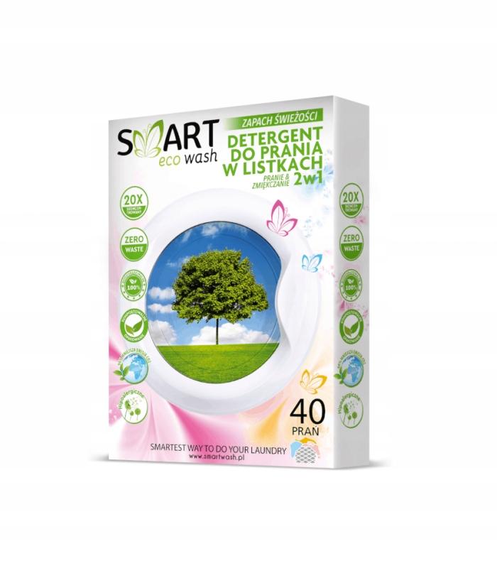 Smart Biodegradowalne listki do prania świeży 40pr