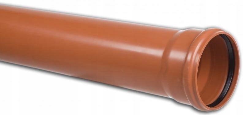 Rura kanalizacyjna zewnętrzna PVC 250X7.3X2000 SN8