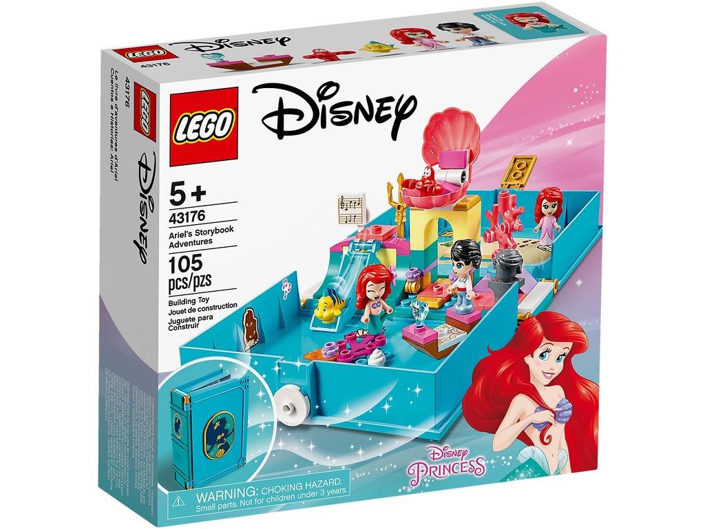LEGO DISNEY PRINCESS 43176 KSIĄŻKA Z PRZYGODAMI