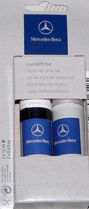 Mercedes OE Lakier Zaprawka 197 A00098623509197