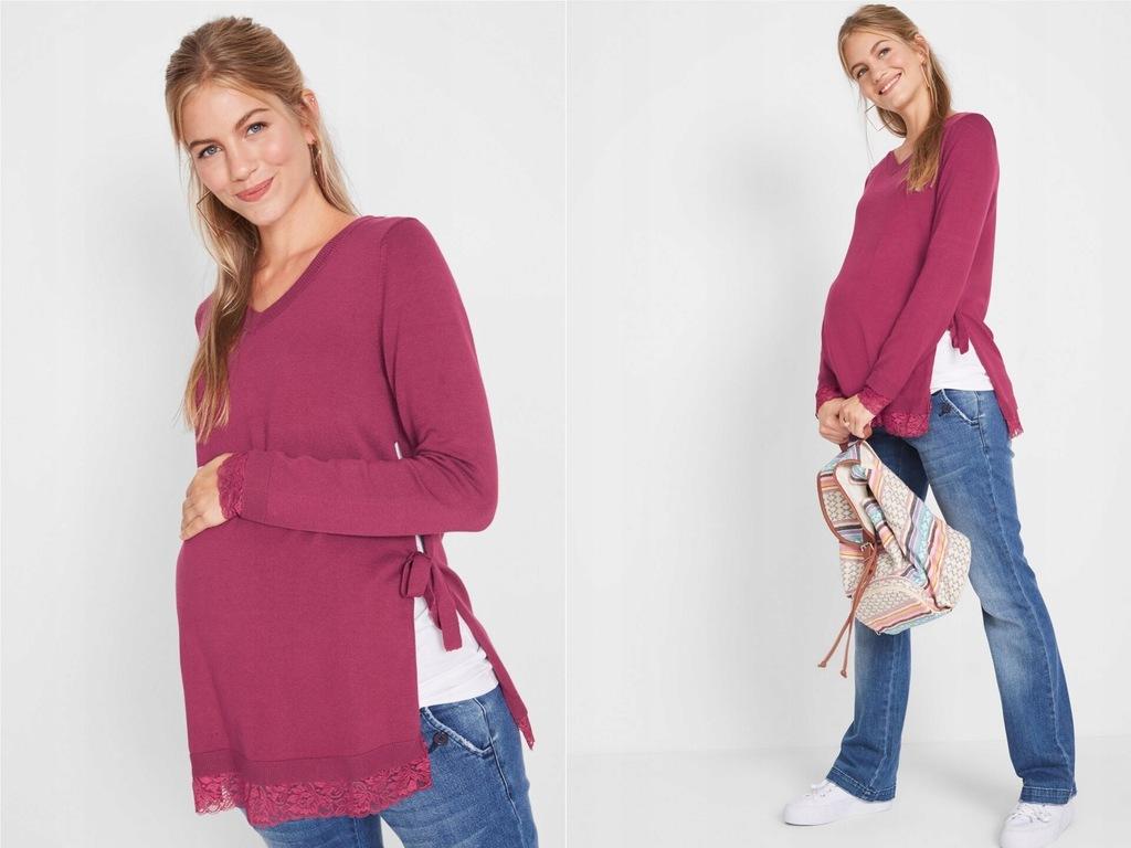 Sweter ciążowy / sweter do karmienia 40/42