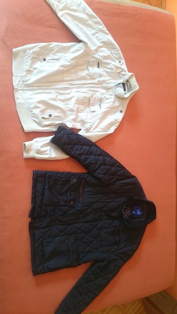 Zestaw Paka Kurtka pikowana Gustaff + 23 ubrania L