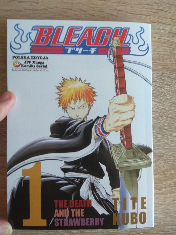 Bleach tom 1
