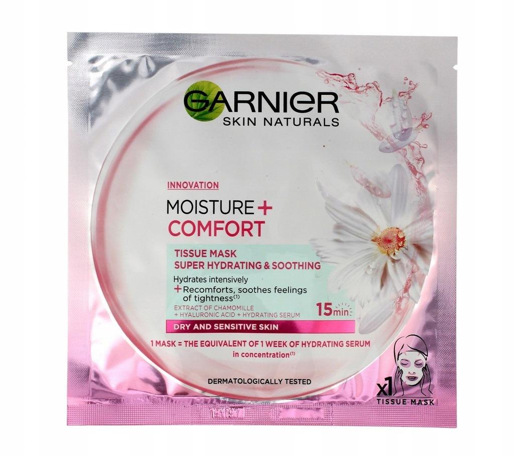 Garnier Skin Naturals Moisture+ Maska-kompres nawi