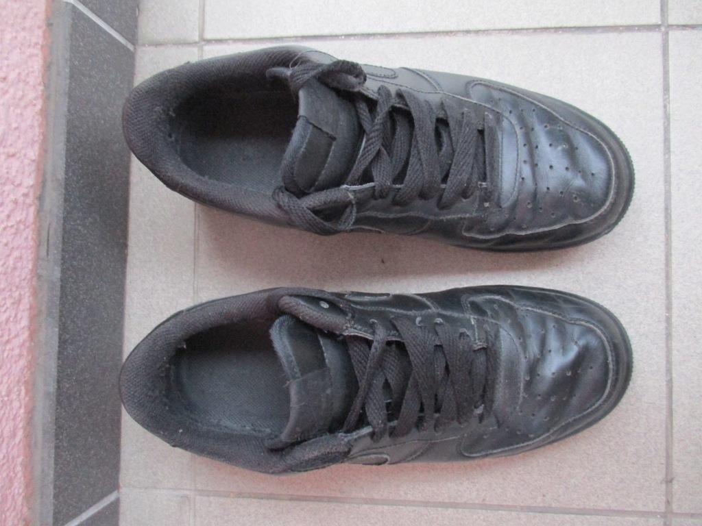 Nike Air Force czarne Damskie r. 40,5 * 7883183429