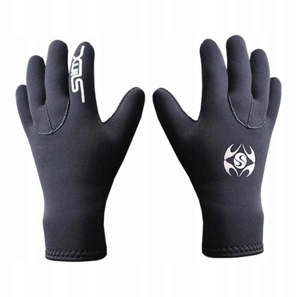 1 para 3 mm neoprenowe rękawice do nurkowania ręki