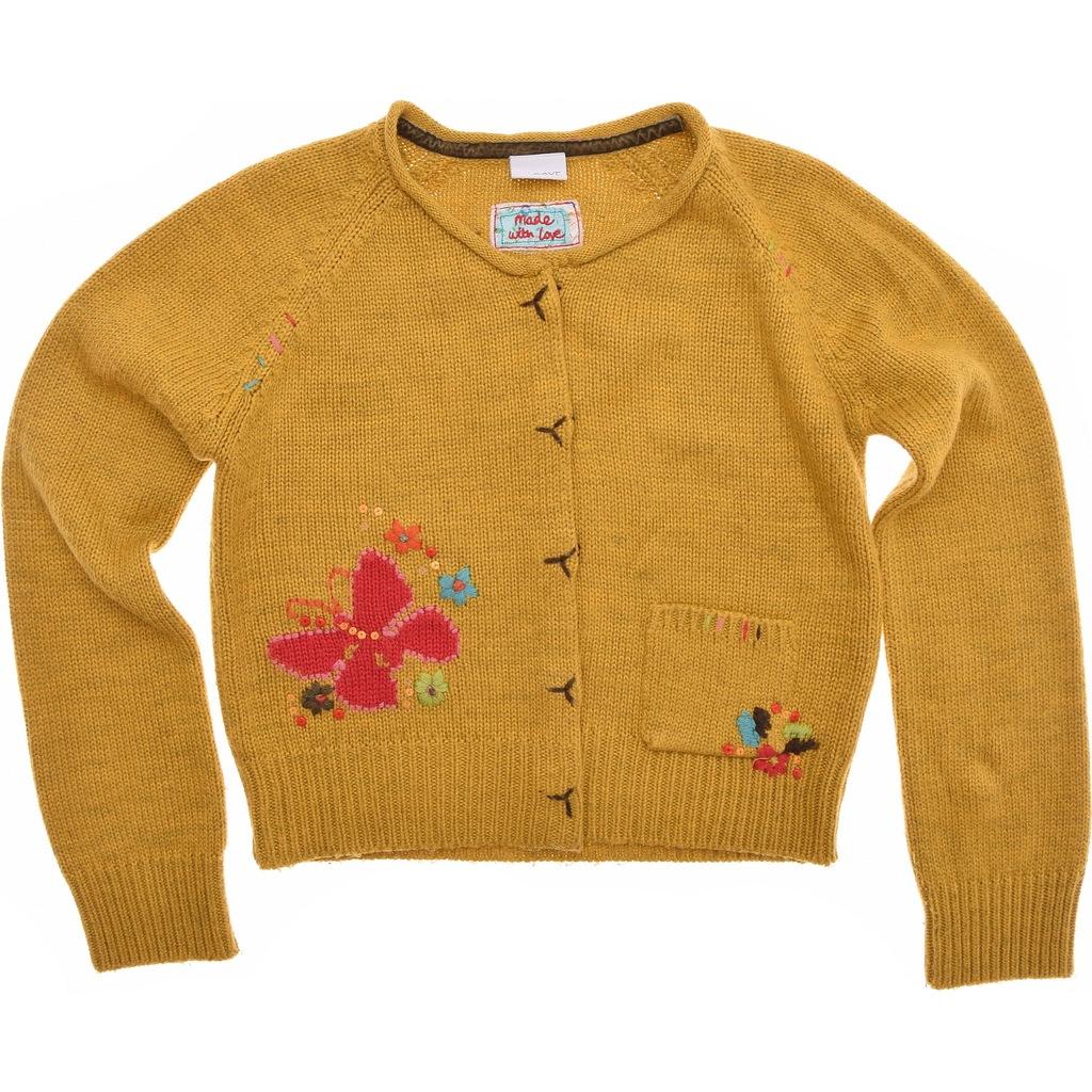 NEXT sweterek dziewczęcy Zapinany 152