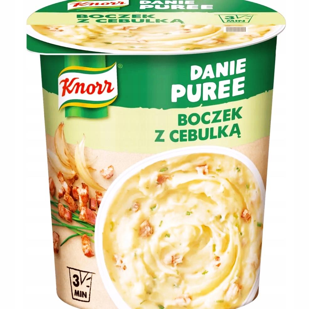 Knorr Danie gotowe Puree boczek z cebulką 51 g