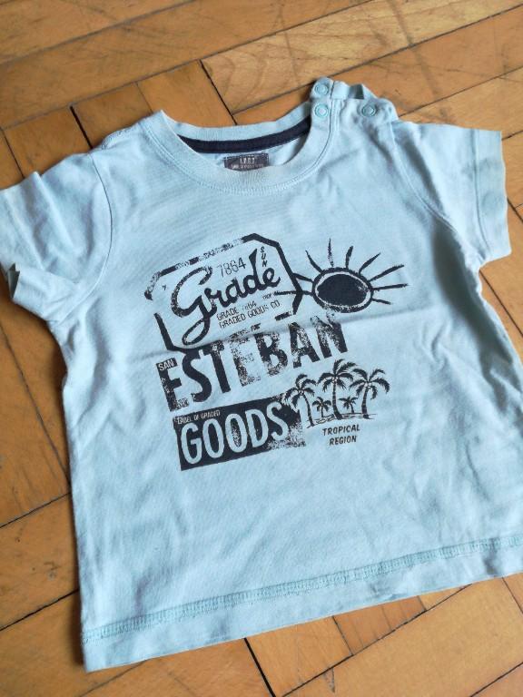 koszulka krótki rękaw lato 80 h&m