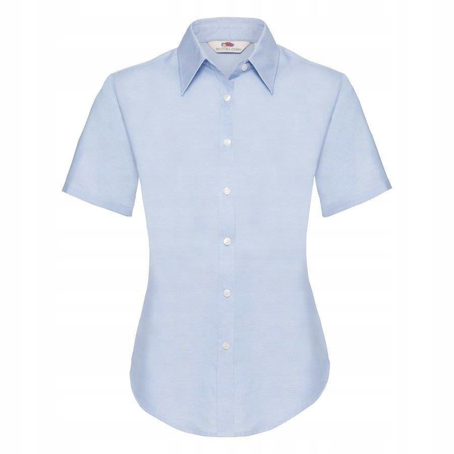 DAMSKA koszula OXFORD SHORT FRUIT błękit XS