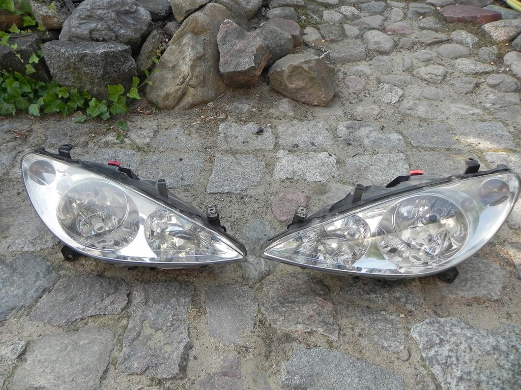 lampy samochodwe peugeot 307 przed liftem allegro