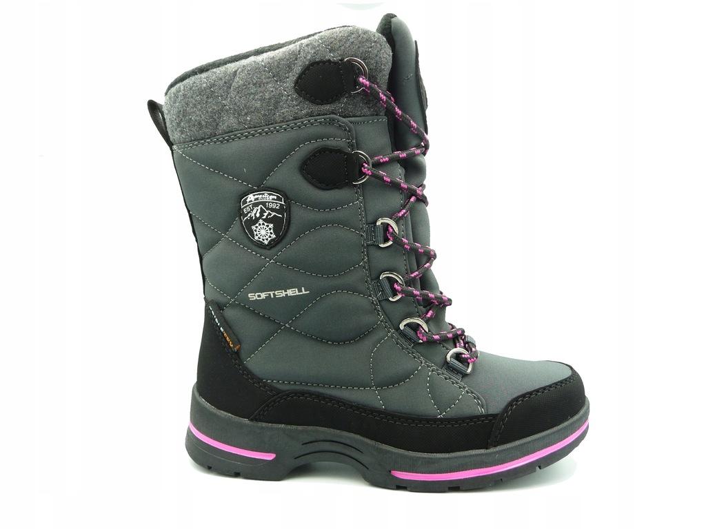 AMERICAN CLUB śniegowce buty zimowe 21919 r.33