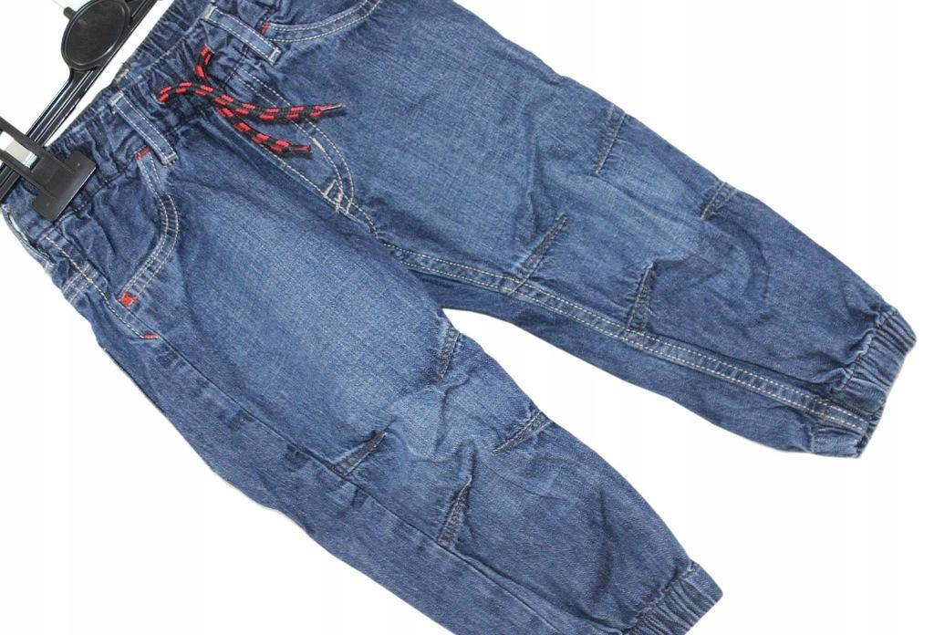 a9 &DENIM Wygodne Chłopięce Spodnie Jeans 92