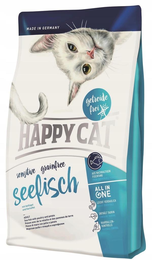 Happy Cat Sensitive Grainfree Ryba Morska, 1,4kg