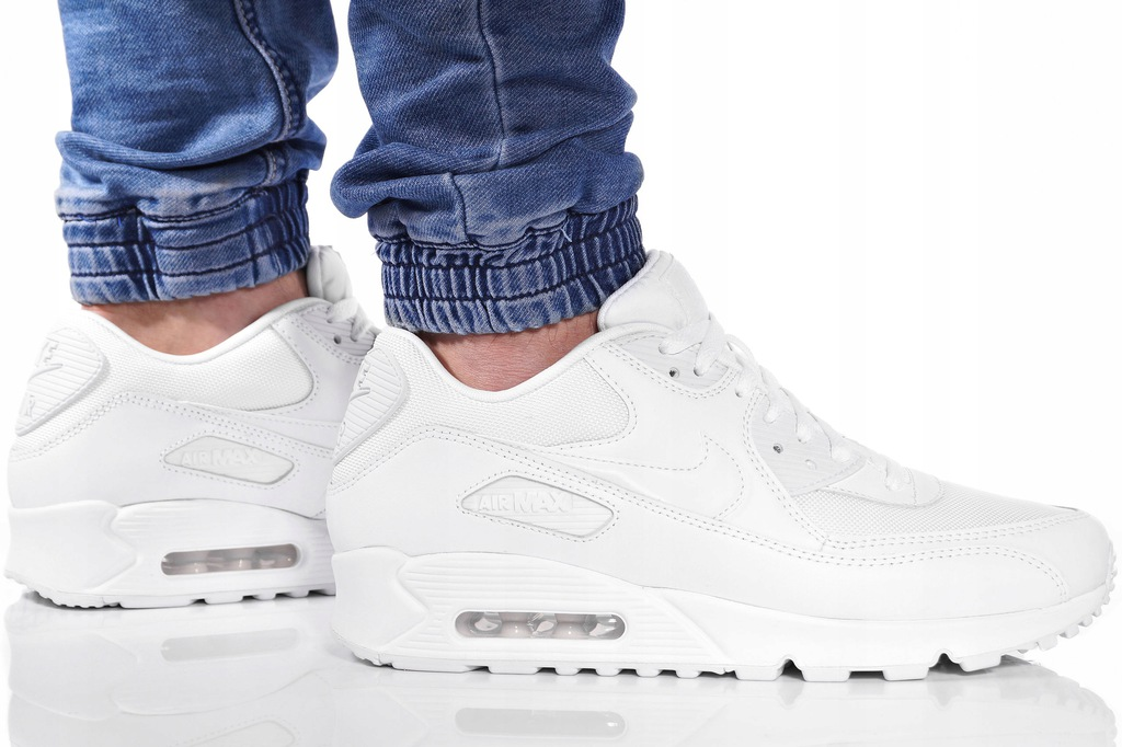 Buty Nike Air Max 90 Essential All White (537384 111