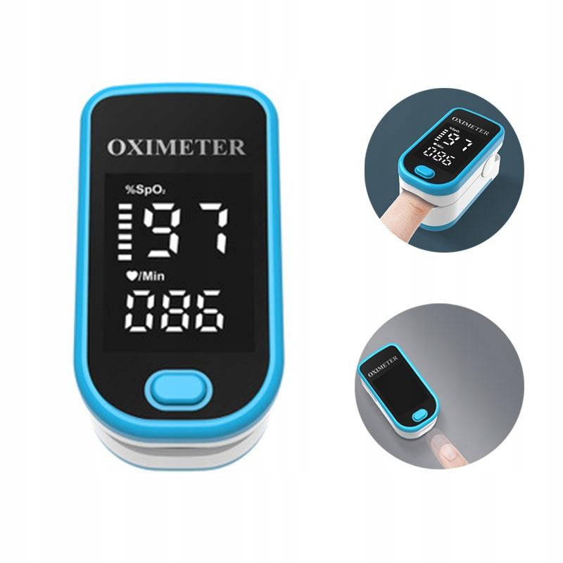 Pulsoksymetr napalcowy medyczny ACCURATE FS10C 1x