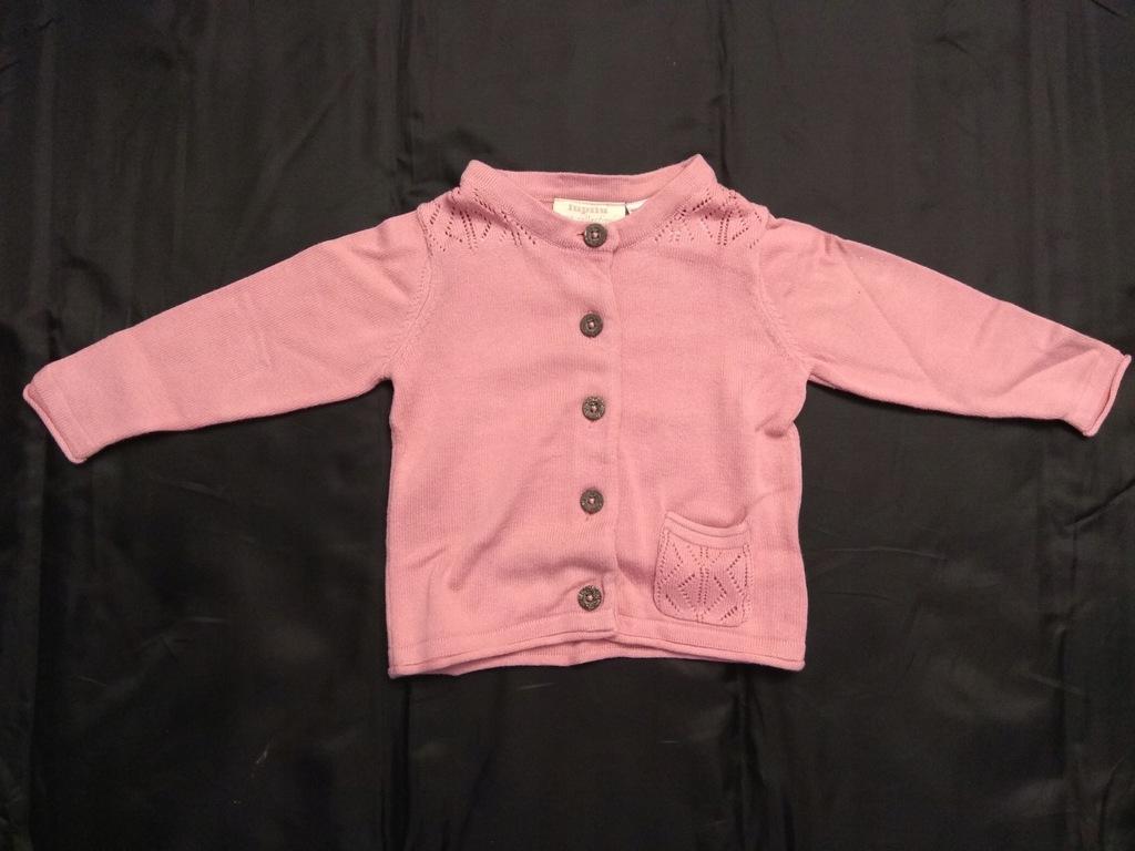 Sweterek rozpinany Lupilu rozm. 62/68 cm
