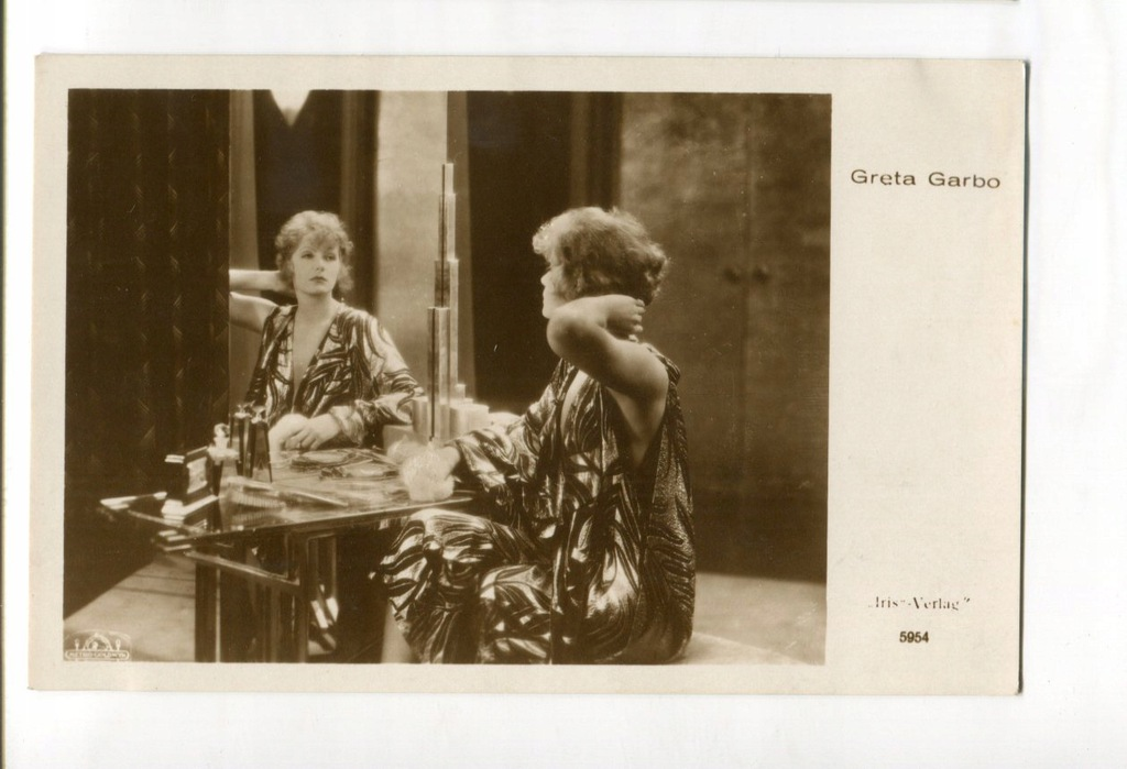 Greta Garbo Kino Film Aktorka Foto Pocztówka 5