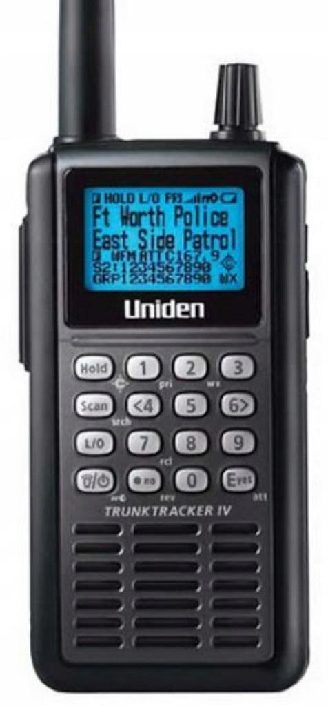 Skaner Uniden 25 - 1300 MHz Edacs Motorola