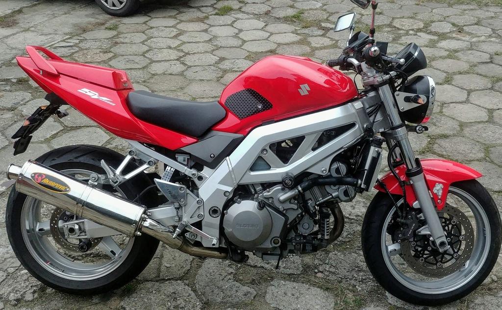 Suzuki Sv 1000 2005 8282754199 Oficjalne Archiwum Allegro