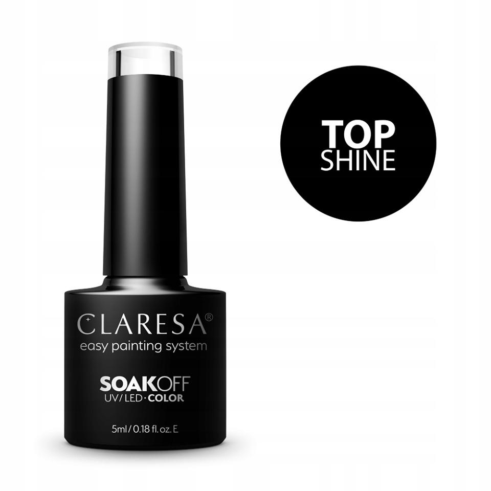 Claresa TOP Coat Shine Wipe 5 ml