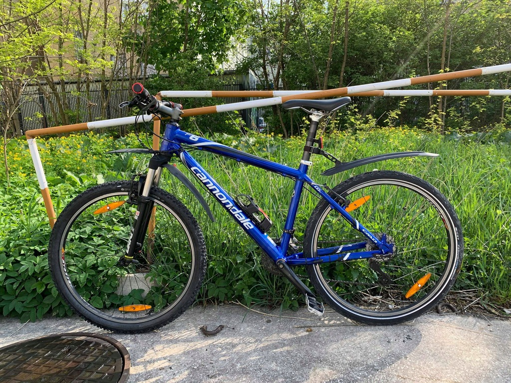 Rower Cannondale F6 Rock Shox, 26