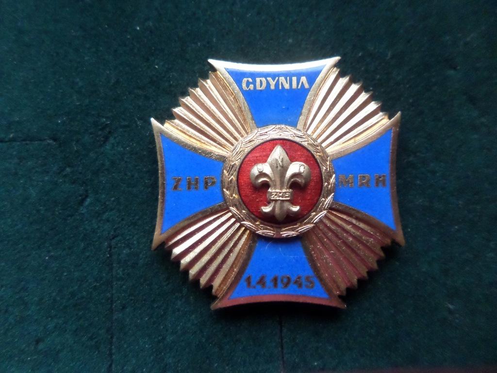 Odznaka Harcerska - Gdynia ZHP-MRH-1.4.1945