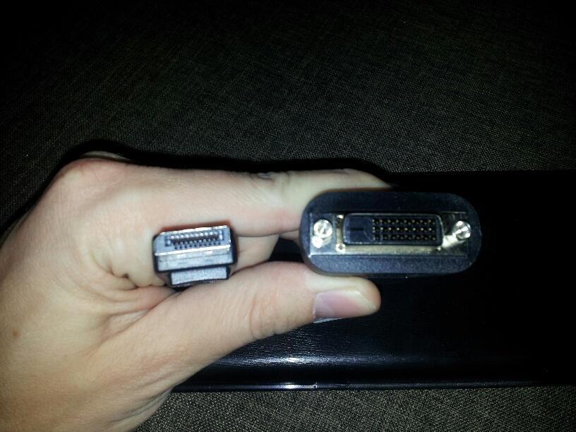 Konwerter DisplayPort-->DVI HP