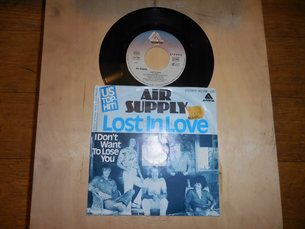 AIR SUPPLY 'Lost in love'