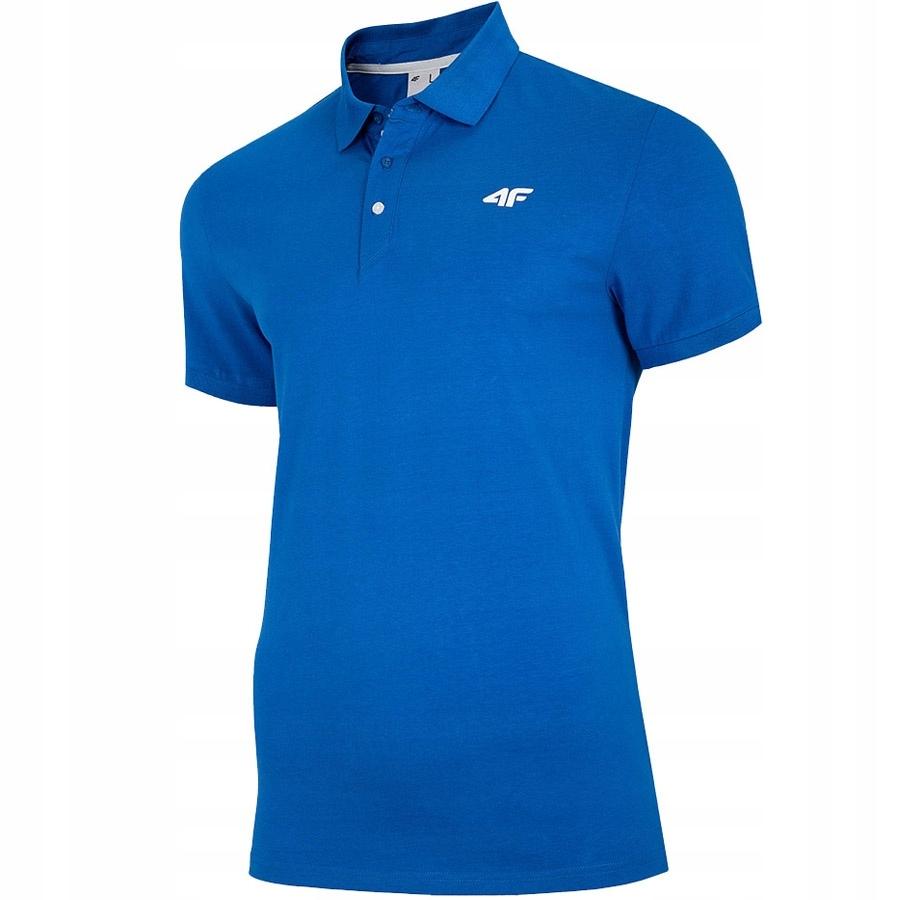 Koszulka 4F NOSH4-TSM007 36S niebieski L!