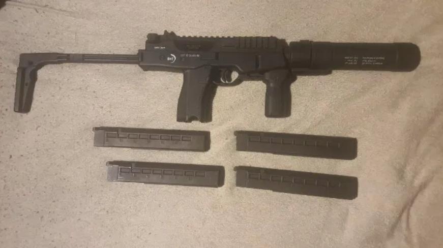 ASG - MP9 - Tłumik - 4 magazynki