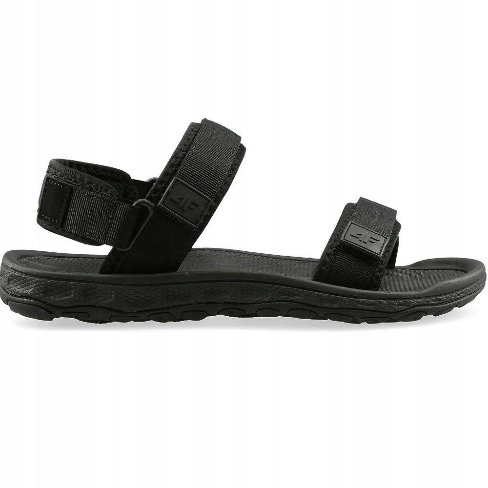 Sandały męskie sportowe 4F H4L19 SAM001 45 czarny