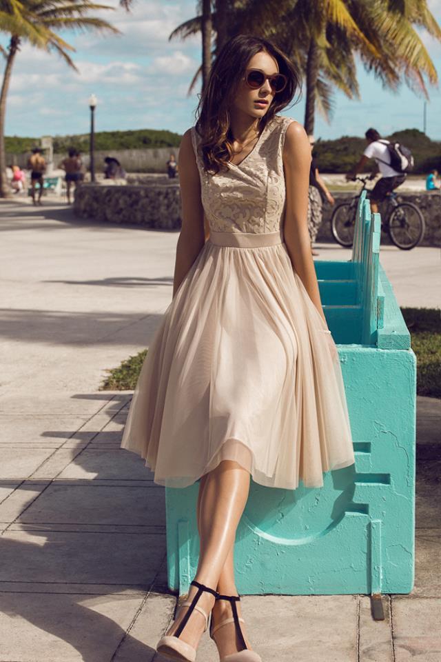 Sukienka Koktajlowa EZURI