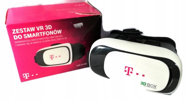 Zestaw VR 3D do smartfonów