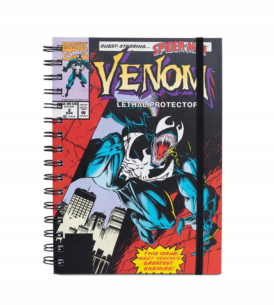 Venom Marvel Komiks - zeszyt filmowy, notes A5