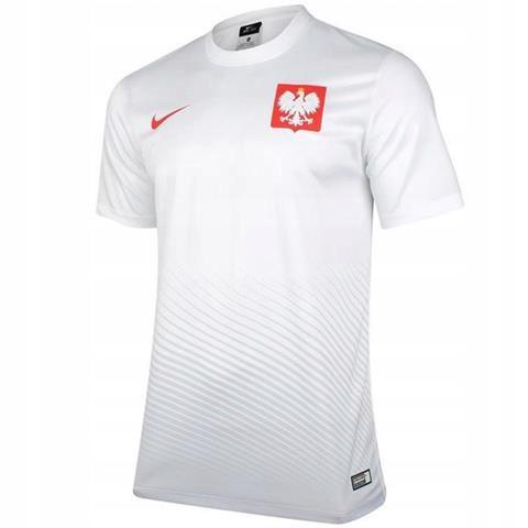 Koszulka Nike Polska Home Supporters Tee biała XL