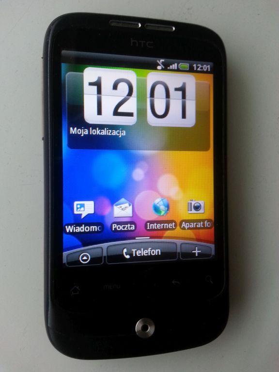 Elegancki HTC Wildfire A3333 - całość dla WOŚP