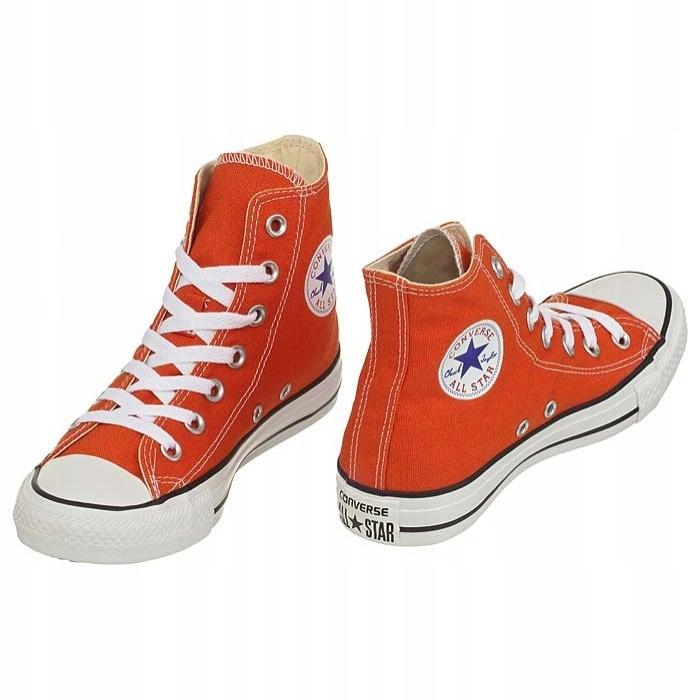 Trampki Converse All Star HI 142371F Pomarańczowe