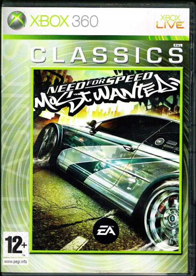 Xbox 360 Need For Speed Most Wanted 2005 Nfs 8996171177 Oficjalne Archiwum Allegro