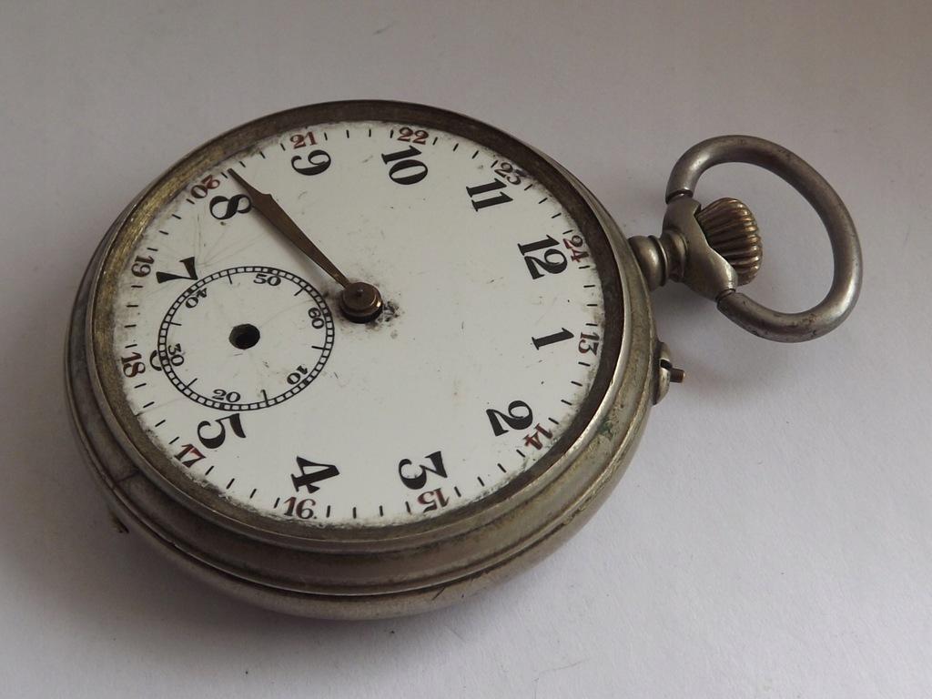 Zegarek kieszonkowy - Remontoir Ancre-ozdobny werk