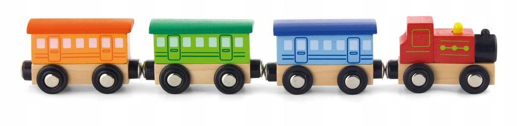 Viga Zestaw akcesoriów do kolejki klasyczny pociąg