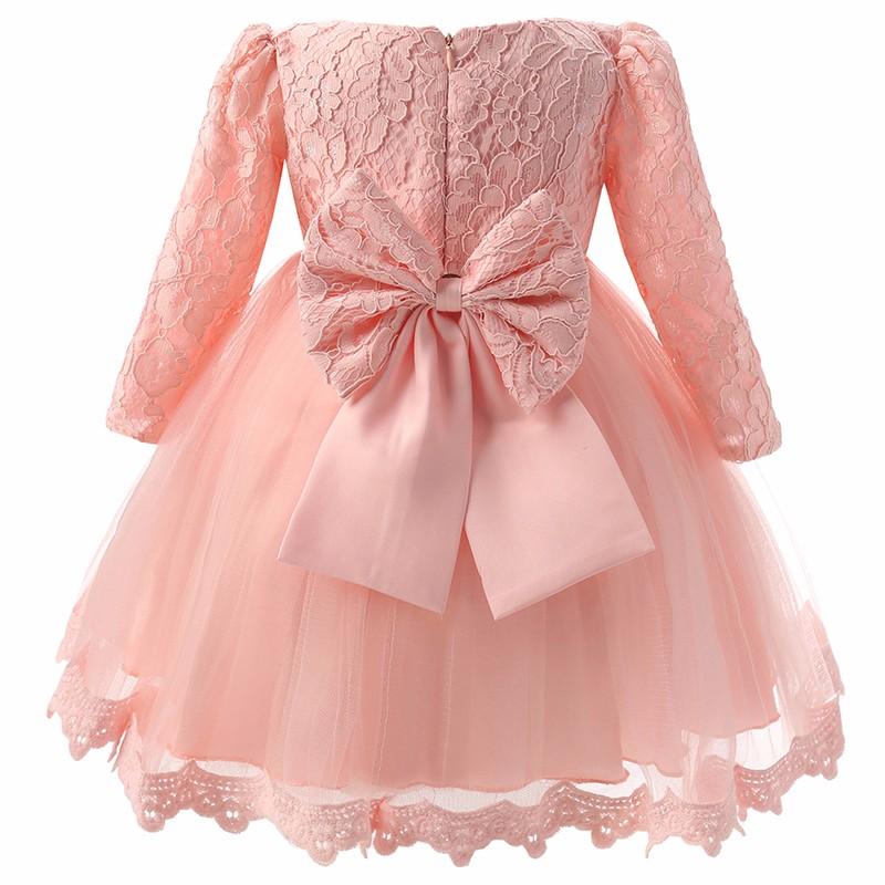 Elegancka sukienka chrzest ślub 2 kolory 4 lata