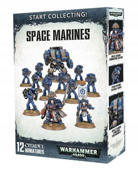 Start Collecting Space Marines - Warhammer 40k