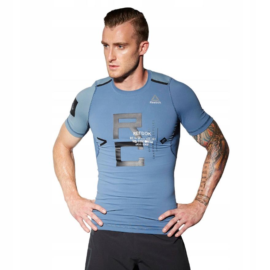 Koszulka Reebok Combat Rash męska termoaktywna M