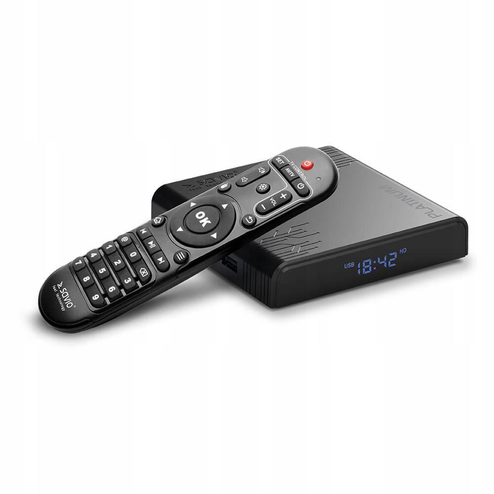 SAVIO SMART TV BOX PLATINUM 4 32GB ANDROID 9.0